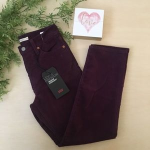 NWT Levi's wedgie fit corduroys